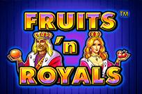 Автомат Fruits And Royals в клубе Супер Слотс